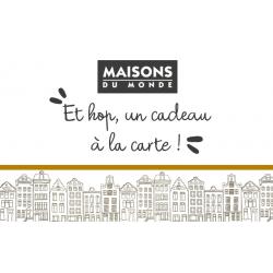 CARTE MAISONS DU MONDE