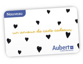 Carte cadeau Aubert